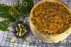 Mousse de Maracujá Fácil » Doces e sobremesas, Receitas Saudáveis » Guloso e Saudável