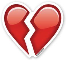 Broken Heart | Emoji Stickers