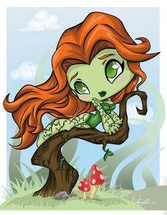 Poison IVY by ckeiji on DeviantArt Copper Hair Dye, Poison Ivy Character, Poison Ivy Dc Comics, Monster High Dolls, City Girl, Marvel Dc Comics, Gotham City, Indie Brands, Deviantart