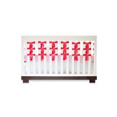 Oliver B Fuschia 3-Piece Crib Bedding Set and Accessories