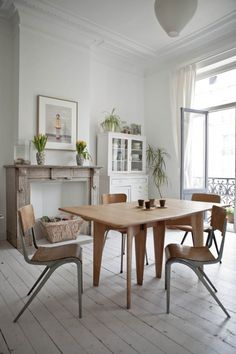 Style shabby-industriel - Justine Glandfield home via Milk magazine
