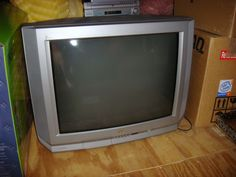 "Silver 32"" JVC TV in Dawn's Garage Sale in Virginia Beach , VA for $50.00. Great condition."