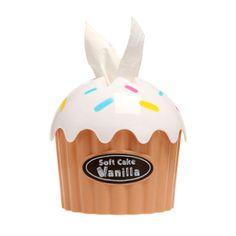 Cupcake para Lenço de Papel