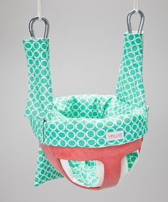 Love this Teal Time Swing & Restaurant High Chair Cover by Smitten Baby on #zulily! #zulilyfinds