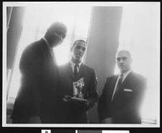 1964 Gaines Scholar Athlete Award, Los Angeles, ca. 1964 :: Charlotta Bass / California Eagle Photograph Collection, 1870-1960