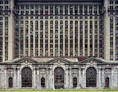 The Ruins of Detroit by Yves Marchand & Romain Meffre