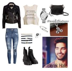 Derek Hale outfit by daniellependragon on Polyvore featuring mode, River Island, H&M, Dr. Martens, Rebecca Minkoff, Michael Kors, Bling Jewelry, Jules Smith, Wet Seal and outfit