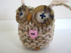 Knitted owl :-)