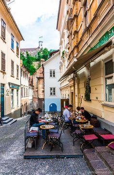 Ljubljana's best coffee, pastries and chocolate #TasteLjubljana #Ljubljana #Slovenia