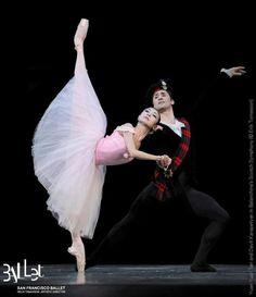 """Yuan Yuan Tan and Davit Karapetyan, """"Scotch Symphony"""", San Francisco Ballet"""
