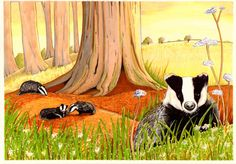 Badger on Etsy, $39.25