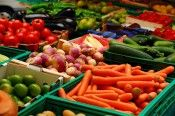 Free produce for low-income seniors, moms and children