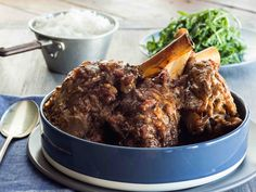 Lamb Shanks with Red Wine and Herbs