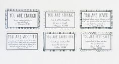 Scripture cards Identity Stack set of 24 by thelovenoteshoppe