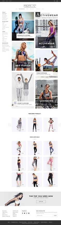 Minimal 16+ Multi Stores Magento Theme for Stunning eCommerce Website. Demo #fashion #store Live Preview & Download ➼ http://themeforest.net/item/minimal-responsive-theme/15238798?ref=Datasata