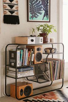 Assembly Home Odile Bookshelf. Love this if we didn't have our radiator where it is.