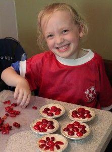 Cooking with Kids: Easy No-Bake Fresh Fruit Tarts (recipe)