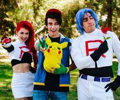 Team Rocket and Ash