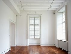 Measurement: Room (Kergehuennec), 1969 - 2007 Tape and letraset on wall Size determined by installation