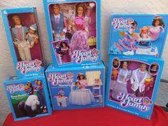 LOT OF 6 1980s Mattel THE Heart Family NEW Arrive Grandma AND Grandpa NRFB MIB   eBay