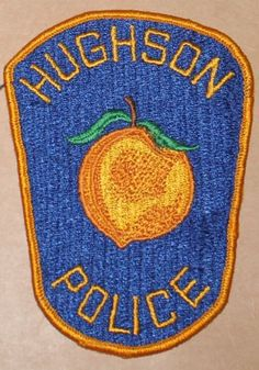 Defunct-HUGHSON-POLICE-Stanislaus-Co-California-PD-Vintage-patch