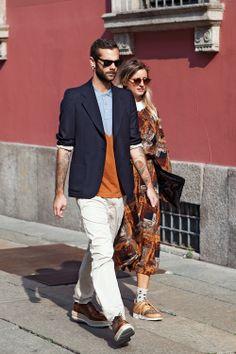 Milan & Paris Fashion Week - Street Style