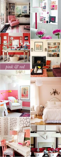 Glitter Guide - Interior Style File: Pink & Red