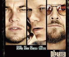 The Departed. Two men from two different sides of the law are undercover within the Massachusetts State Police and Irish Mafia. Violence and bloodshed boil when discoveries are made and the moles are dispatched to find their enemies identities. A high action drama mystery! An ending you don't expect coming!