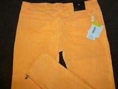 Versace ladies jeans pretty peach/orange color, size 34/48 $80