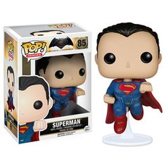 Batman v Superman Dawn of Justice Superman Pop Vinyl Figure $9.99 http://amzn.to/2sC3QU4