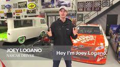 NASCAR Race Mom: Joey Logano Spreading Christmas Cheer