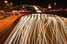 Queen Elizabeth ll Bridge Light Trails