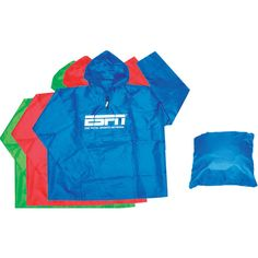New business will come pouring in with the help of this nylon poncho! This handy giveaway has a size that allows for a large imprint, giving your logo increased visibility. Customize with your company name and image! Available in bold colors, this poncho is great for many events. This gift folds into itself for easy storage and it has back straps for added convenience. This is an item for everyone; make sure to grab yours today!