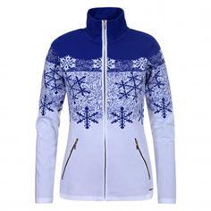 Luhta Venna vest dames royal blue