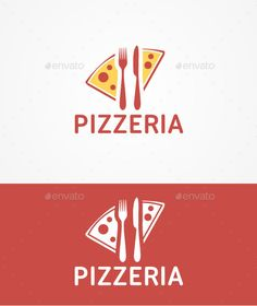 Pizzeria Logo Design Template Vector #logotype Download it here: http://graphicriver.net/item/pizzeria-logo-template/10511053?s_rank=1620?ref=nexion