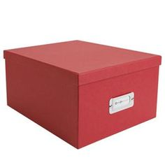 Superbe Bigso Gustav CD/DVD/Video Media Storage Box Storage Containers
