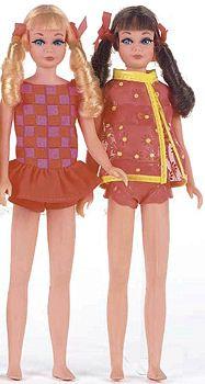 Vintage Twist and Turn Skipper Dolls
