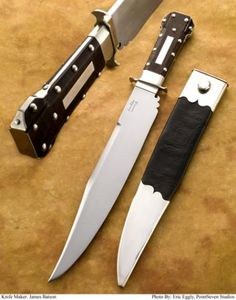Nice work on the frog, too!  The 2010 Antique Bowie Knife Association Award for Master Smith was awarded to Dr. James Batson, Master Smith at the Blade Show in Atlanta.