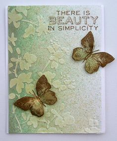 Suzz's Stamping Spot, Simon Says Stamp Monday Challenge, Flowers, Stampers Anonymous, Clover Challenge, Tim Holtz Layering Stencil,