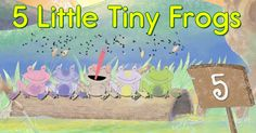 Five Little Speckled Frogs - Preschool Counting Song by ELF Learning
