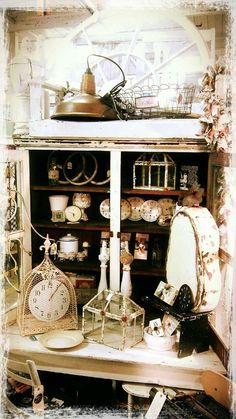 Primitive and shabby chic