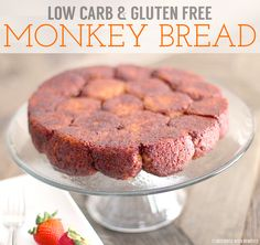 Healthy Low Carb and Gluten Free Monkey Bread (sugar free, high fiber & high protein)