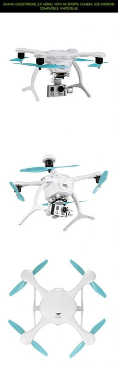 Ehang GHOSTDRONE 2.0 Aerial with 4K Sports Camera, iOS/Android Compatible, White/Blue #fpv #plans #tech #shopping #racing #camera #gadgets #parts #ehang #technology #drone #products #kit #2.0