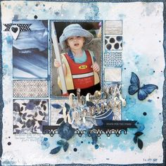 Kaisercraft Mood Board Challenge – April 2017 – Choose Happiness | My Creative Slice {Alicia Redshaw}