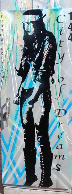 City of Dreams street art by Sean Murdock. Vallejo, California Zippertravel.com Digital Edition