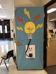 Elementary Science, Science Experiments Kids, Science Fair, Science For Kids, Science Projects, Science Room Decor, Kindergarten Door, Tech Room, School Hallways