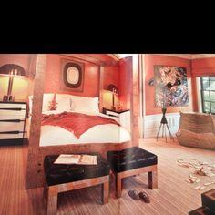 Bedroom design by Kelly Wearstler
