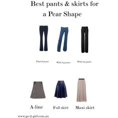 Best pants & skirts for Pear Shapes by go-2-girl on Polyvore featuring Dorothy Perkins, Chloé, Philosophy di Alberta Ferretti and Del Forte