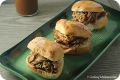 Best Bourbon Pulled Pork Sliders Recipe on Pinterest