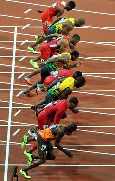 greatest race in history so far Usain Bolt Photos, Asafa Powell, Ryan Bailey, Yohan Blake, Justin Gatlin, Diamond League, Richard Thompson, Canadian Football, Sport One